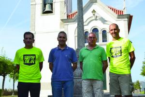 A organização junto à capela do Monte Crasto / Foto: Pedro Santos Ferreira