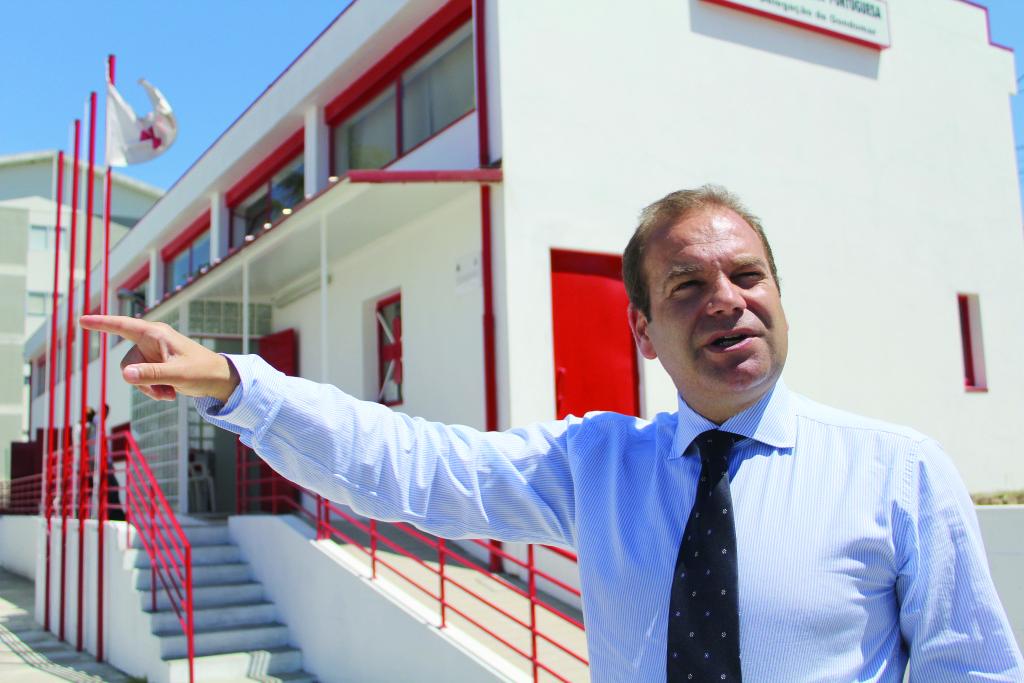 O projeto mais recente: Cruz Vermelha Portuguesa / Foto: Ricardo Vieira Caldas