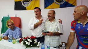 O trabalho de Valdemar Gomes, presidente da associação, mereceu elogios / Foto: Direitos Reservados