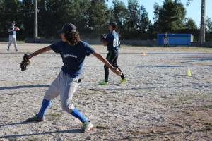 A equipa gondomarense integra atletas dos Bufallos Baseball Clube / Foto: Ricardo Vieira Caldas