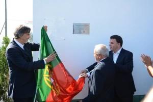 Marco Martins e Emídio Guerreiro lideraram a inauguração dos relvados / Foto: Direitos Reservados