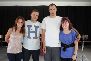 Alexandra Pinto, Hélder Teixeira, Marcelo Mendes e Marisa Matos / Foto: Pedro Santos Ferreira