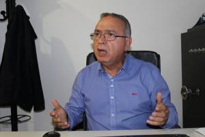 Graciano Martinho, presidente da direção da centenária Associação Comercial e Industrial de Gondomar / Foto: Pedro Ferreira