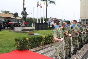 A cerimónia decorreu junto ao Soldado Desconhecido / Foto: PSF