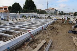 Cemitério de S. Pedro da Cova com obras de reordenamento / Foto: PSF