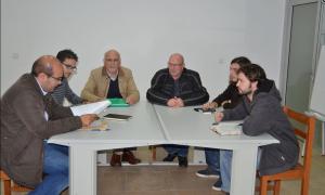Daniel Vieira com Grupo Parlamentar do BE - novembro 2015