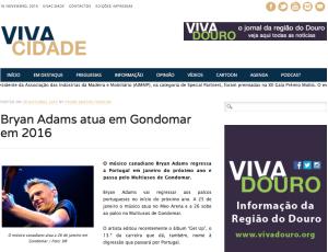 Recorde site Vivacidade