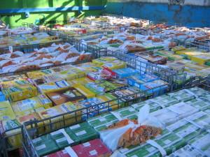 Recolha de Alimentos Liga Nacional Contra a Fome