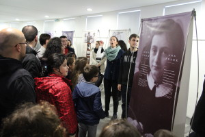 Exposição Anne Frank - 2016