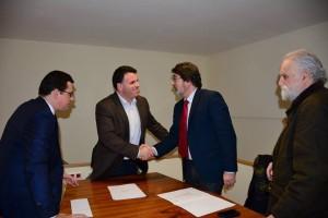 Assinatura contrato-programa CMG/Fundação Júlio Resende