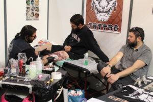 A convenção uniu 10 mil amantes da tatuagem / Foto: Pedro Santos Ferreira