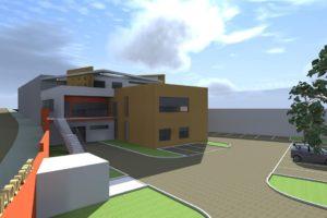 Projeto do Centro Geriátrico