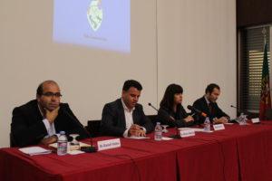 O debate realizou-se no auditório da ACIG / Foto: Direitos Reservados