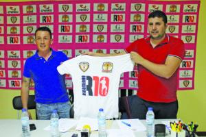 Manuel Sousa e Marco Vigário formalizam a parceria