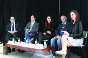 José Carreira, Nuno Fonseca, Cláudia Vieira, José Ricardo e Renata Martins / Foto: Pedro Santos Ferreira