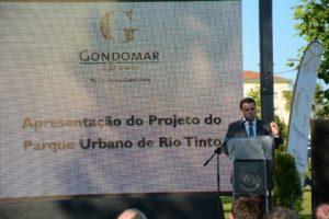 Marco Martins apresentou o Parque Urbano de Rio Tinto / Foto: Direitos Reservados