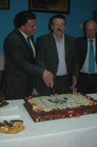 Marco Martins acompanhou o 57.º aniversário da coletividade / Foto: Direitos Reservados