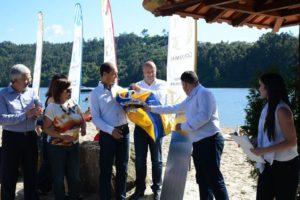 A praia foi inaugurada por Marco Martins e José Andrade / Foto: Direitos Reservados