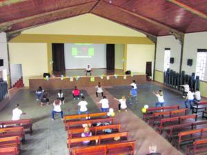 A atividade passou pelo Salão Paroquial de Fânzeres / Foto: Direitos Reservados