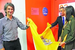 Paulo Garcez e José António Macedo inauguraram os equipamentos / Foto: Pedro Santos Ferreira