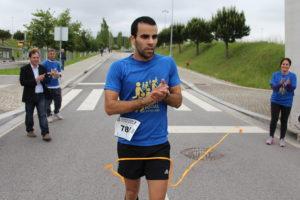 Ismael Queirós, vencedor da 2ª Run Social