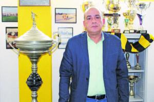 Jorge Pina, presidente SC Rio Tinto - julho 2016