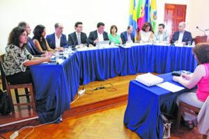 Reunião municipal pública em Rio Tinto - julho 2016