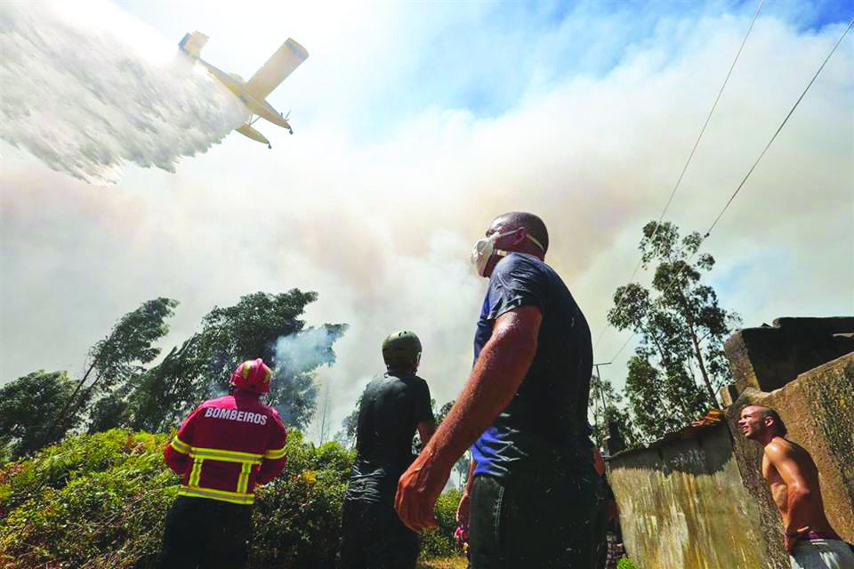 Incêndios em Gondomar - setembro 2016