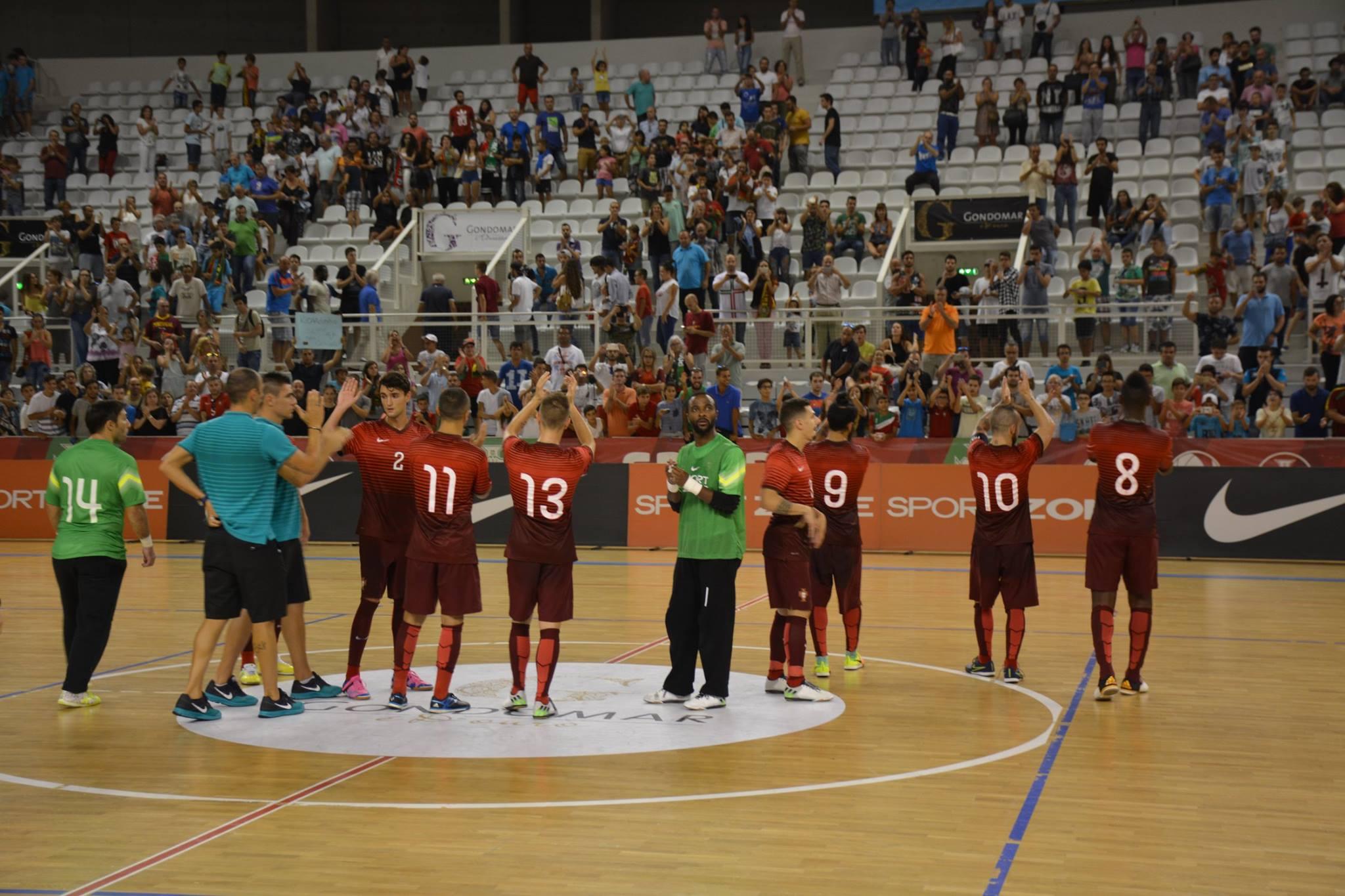 Seleção Nacional de Futsal - setembro 2016
