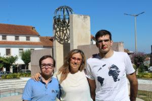 José Ribeiro, Ana Querido e Pedro Ribeiro - setembro 2016