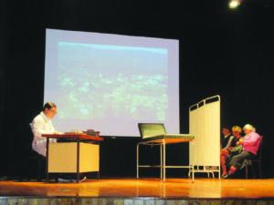 A SC Dez de Junho inaugurou o festival de teatro / Foto: Direitos Reservados