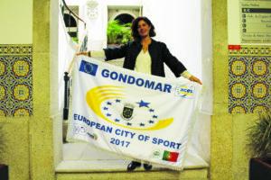 Sandra Almeida, vereadora do Desporto da Câmara de Gondomar / Foto: Pedro Santos Ferreira