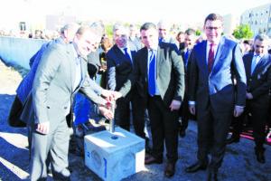 Lançamento da primeira pedra Centro de Saúde de Baguim - janeiro 2017