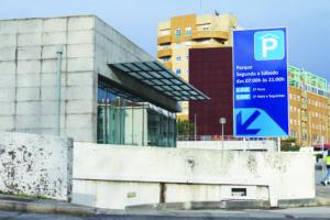 Parque de Estacionamento São Cosme - fevereiro 2017