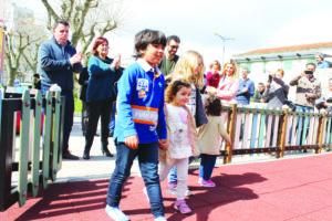 Inauguração Parque Infantil do Largo do Souto - março 2017