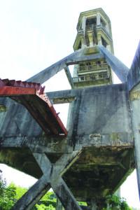 Cavalete do Poço de São Vicente - maio 2017