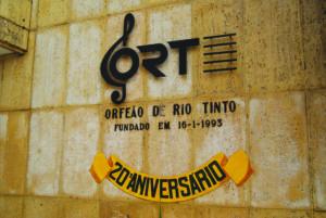 Orfeão de Rio Tinto - março 2018