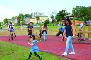 Parque Urbano Rio Tinto - julho 2018