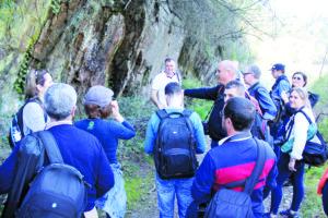 Voluntários unem-se para recuperar antiga linha de Midões e Moinhos de Jancido - março 2019