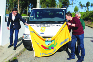 Nova carrinha do Grupo Folcrórico e Cultural de Tardariz - março 2019