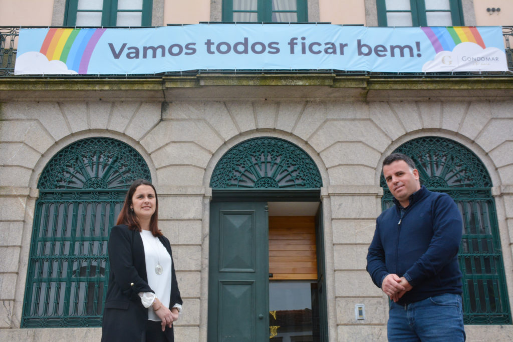 Marco Martins e Cláudia Vieira